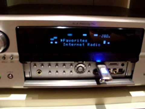 Denon AVR-4306 plays mp3 files from USB stick