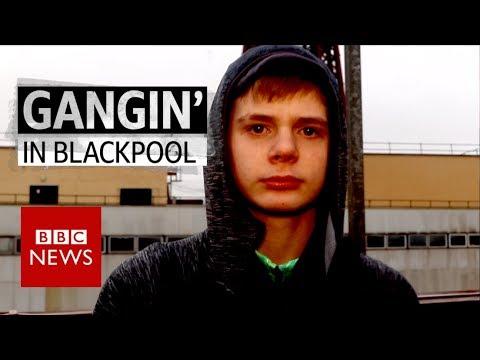 Gangin' in Blackpool - BBC News