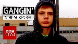 Gangin' in Blackpool - BBC News