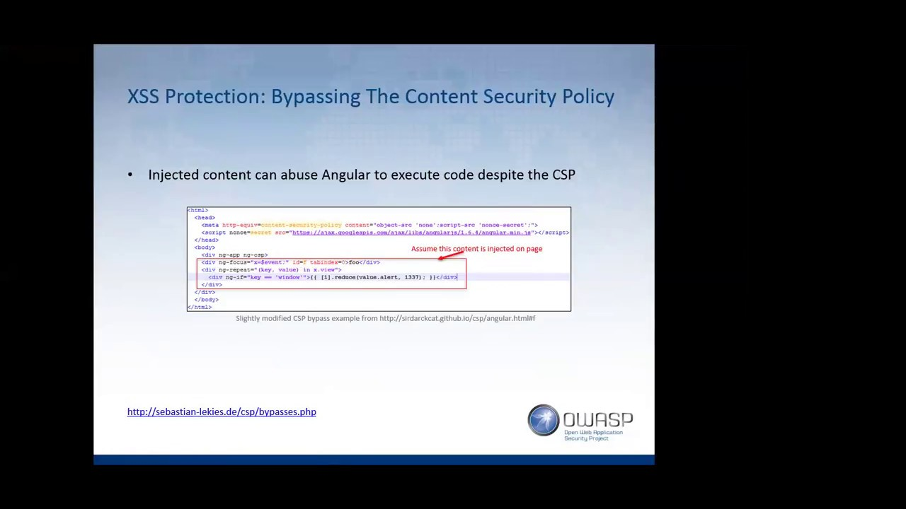 So you thought you were safe using AngularJS? Think again! - Lewis Ardern