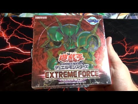 Epic Yu-Gi-Oh! Extreme Force OCG Unboxing - New Link Monsters! New Jack Knight & Tindangle Cards!