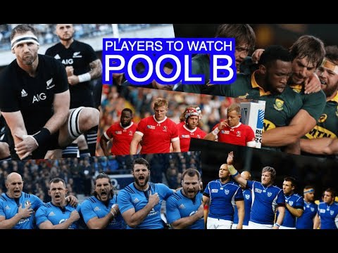 So which players should we watch for in Pool B?   Rugby World Cup 2019   Squidge Rugby