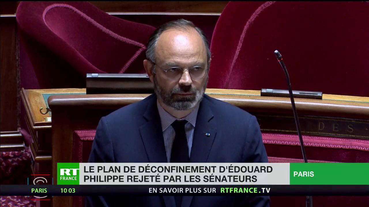 Le plan de déconfinement d'Édouard Philippe rejeté par les sénateurs