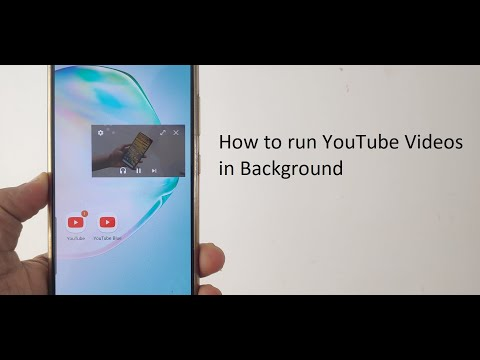 How to Play YouTube Videos in Background and YouTube as a Music Player (in Hindi)