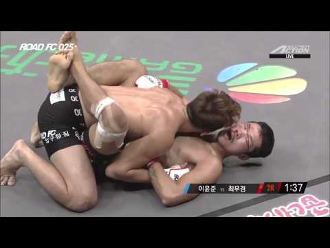 ROAD FC 025 7th Featherweight Superfight Match Lee Yun-Jun(이