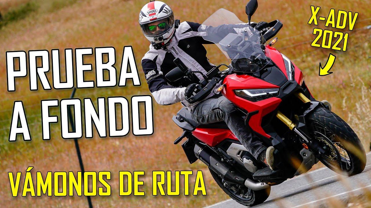 PRUEBA A FONDO Honda X-ADV 2021 - La moto de sustitución!