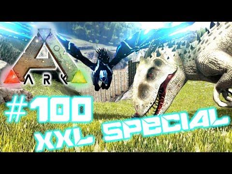 Ark Survival Evolved #100 -  XXL Special: Ice Drake & Indominus Rex zähmen! | LP Ark Deutsch