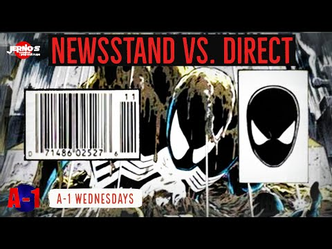 Newsstand Vs. Direct // Comic Book Collecting 101