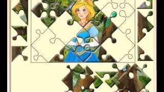 Онлайн пазлы для девочек бесплатно играть - Пазл