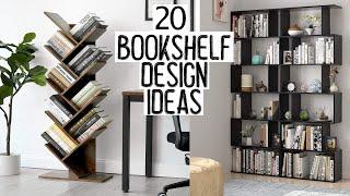 130 Bookshelf Ideas to Organize Your Book — Home library design 2
