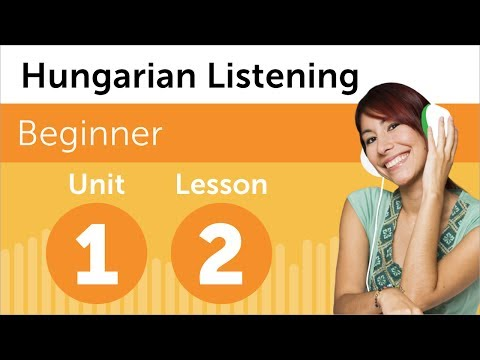 Learn Hungarian - Hungarian Listening - Rearranging the Office in Hungary