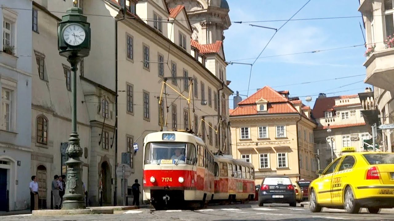 old tram prague street - photo #25