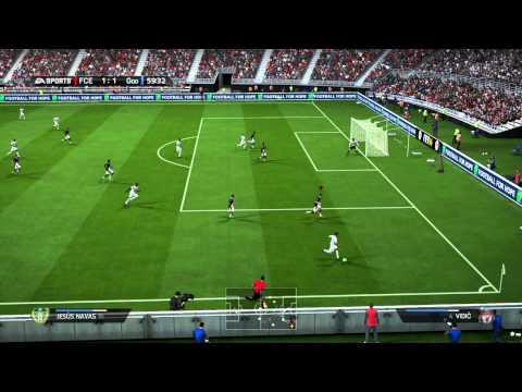 Endlich der erste aufgenommene Sieg-Liga 1-???-FIFA14 Ultimate Team [Xbox One/HD] #4