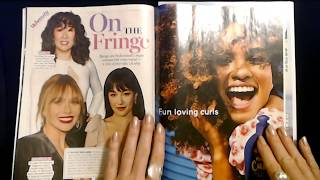 ASMR | Magazine Page Flipping / Whispered Reading