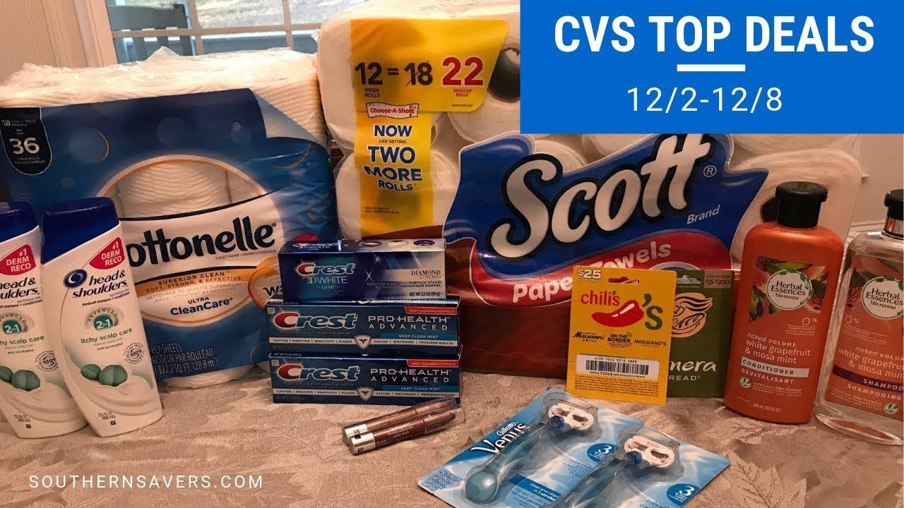 top cvs deals this week  12  2-12  8
