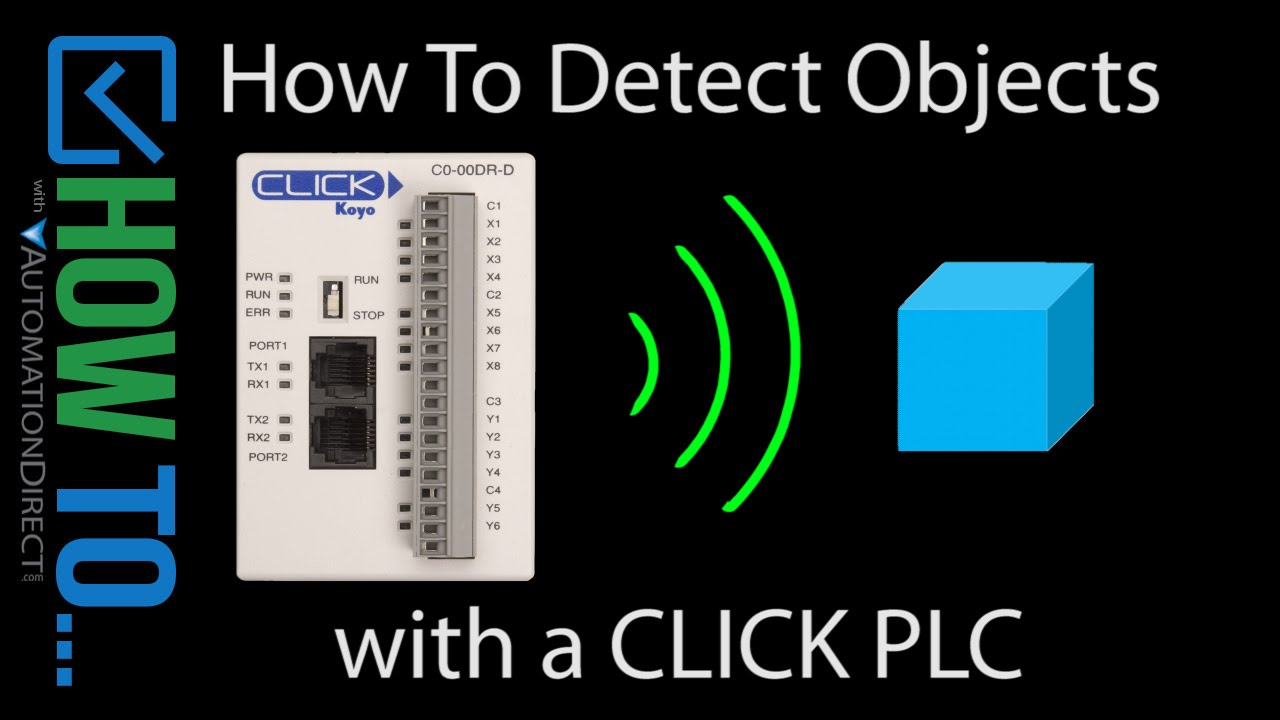How to detect objects with a click plc youtube asfbconference2016 Image collections