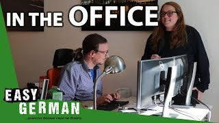 At the office | Super Easy German (47)