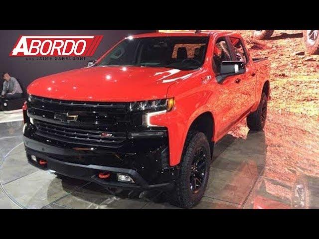 Detroit Auto Show 2018: Chevrolet Silverado 2019 - A Bordo