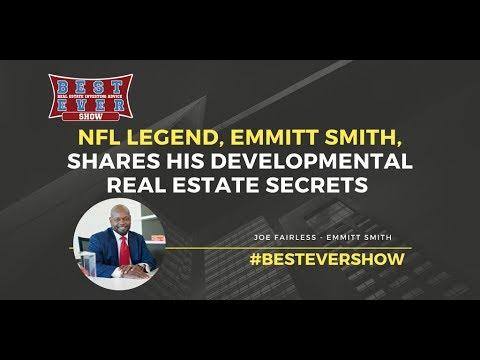 NFL Legend, Emmitt Smith, Shares His Developmental Real Estate Secrets