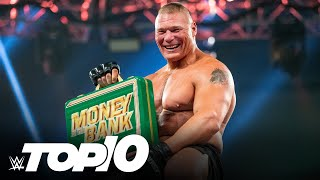 Money in the Bank Ladder Match wins WWE Top 10 July 11 2021