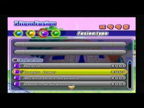 Dragon Ball z Tenkaichi 2 item fusion