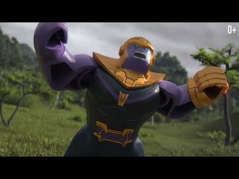 Мультфильм lego marvel superheroes