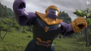 Танос аттакует Мстителей - LEGO Marvel Super Heroes