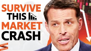 Do THIS To SURVIVE A Market CRASH & Protect Your MONEY | Tony Robbins & Lewis Howes