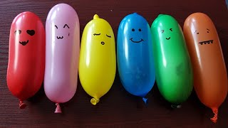 Making Slime With Funny Balloon Cute #Doodles | RELAXING SATISFYING #SLIME