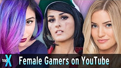 Top 10 Female Gamers on Youtube #InternationalWomensDay