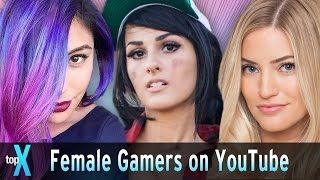 Video Top 10 Female Gamers on Youtube download MP3, 3GP, MP4, WEBM, AVI, FLV November 2017