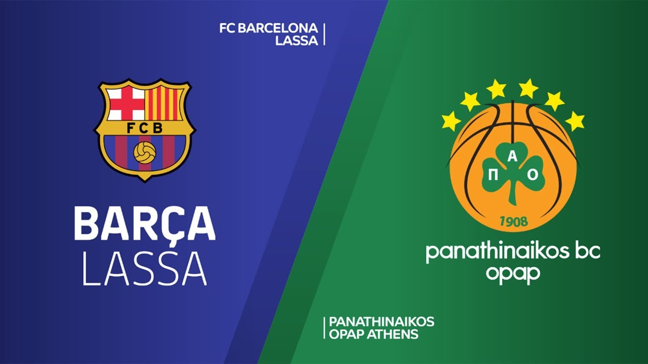 ÖZET | FC Barcelona Lassa - Panathinaikos OPAP Videosu