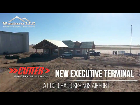 Cutter Aviation - New Executive Terminal at KCOS