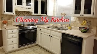 Kitchen Cleaning l Clean My Kitchen with Me l Cleaning Motivation