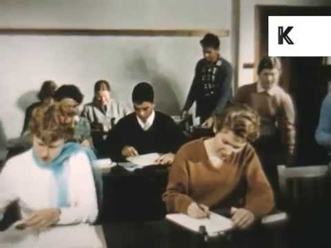 1950s, 1960s Canberra University College Students, Australia Archive Footage