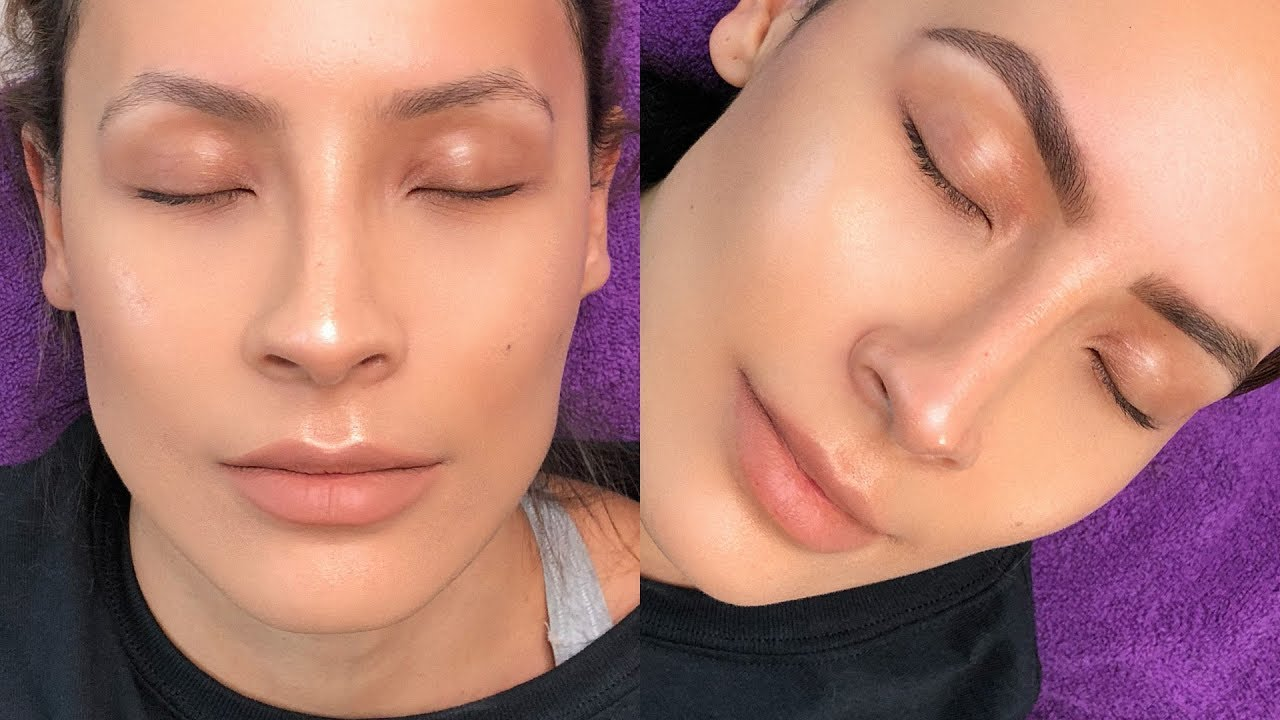 Brow Tinting Omg The Results Are Insane Desi Perkins Youtube