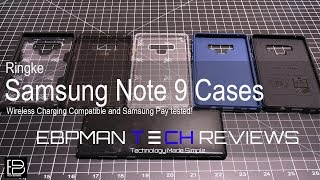 Ringke Samsung Galaxy Note 9 Case Review