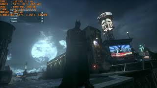 Batman  Arkham Knight [1080p + ultra + Nvidia Stuff] Benchmark [7700K + GTX 1080TI]
