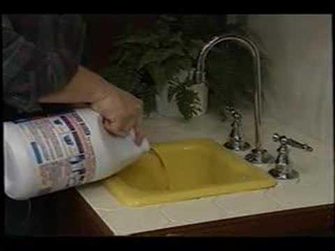 kitchen sink back up