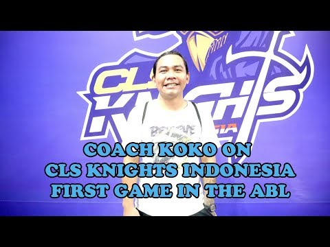 Time Out: Coach Koko on CLS Knights Indonesia First ABL Game!
