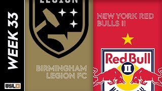 Birmingham Legion FC vs. New York Red Bulls II: October 16, 2019