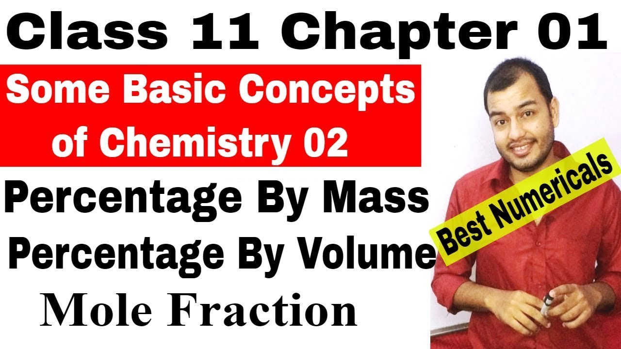 01  Some Basic Concepts of Chemistry – PhysicsWallah