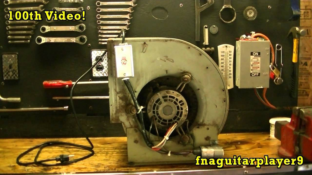 100th Video Blower Fan Project Youtube Hvac Wiring