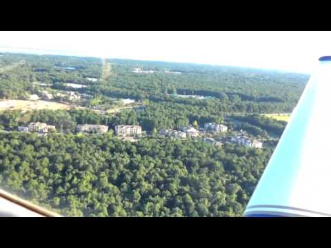 Flight out of Mt Pleasant Airport - July 27, 2015