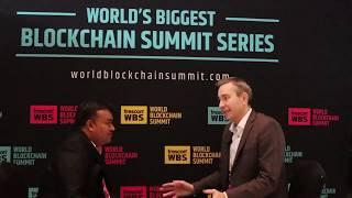 interview with Electroneum coin owner Richard Ells at Trescon World Blockchain Summit @dubai