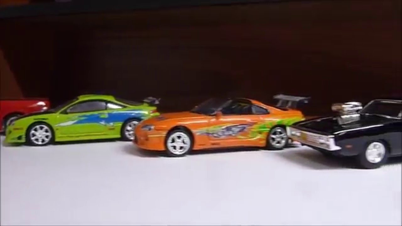 1 64 racing champions the fast and the furious car collection so far youtube. Black Bedroom Furniture Sets. Home Design Ideas