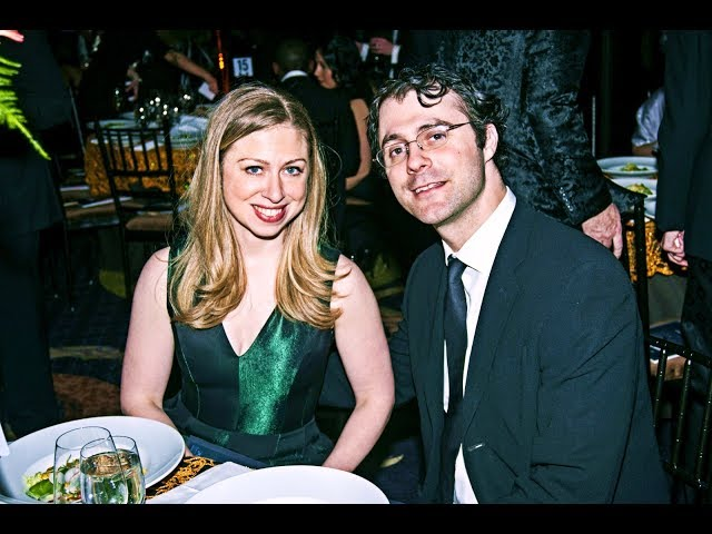 Chelsea Clinton and her husband Marc Mezvinsky