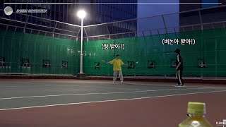 [INSIDE SEVENTEEN] 세븐틴의 즐거운 테니스 시간? (SEVENTEEN's Tennis Time…