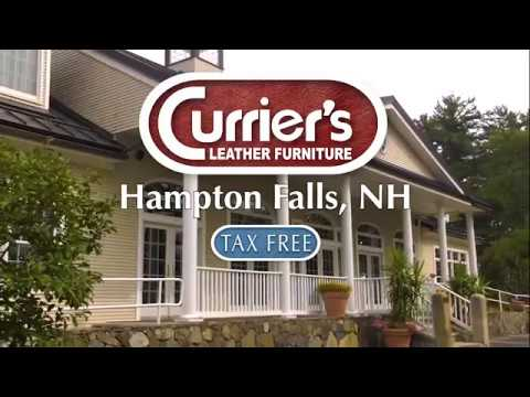 Discover Affordable Luxury Only Real Leather Furniture At Currier S