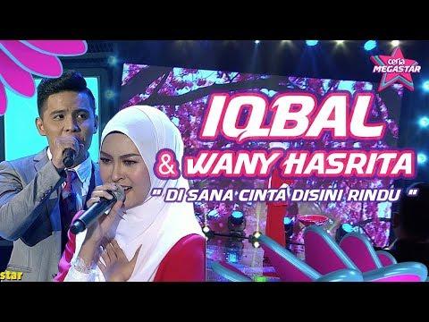 Iqbal ganti Tajul duet dengan Wany Hasrita | Disana Cinta Disini Rindu |Ceria Megastar Separuh Akhir